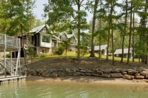 Building a Lake Home has its own challenges.
