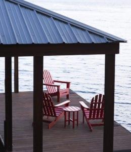 Boat Dock on lovely Lake Keowee in Upstate South Carolina.